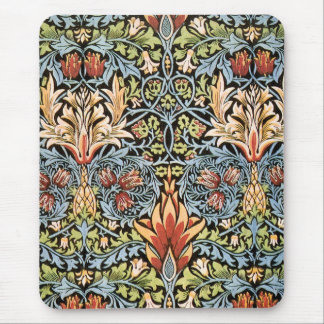William Morris Snakeshead Design Mouse Pad