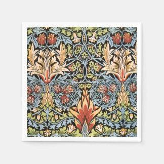 William Morris Snakeshead Design Paper Napkin