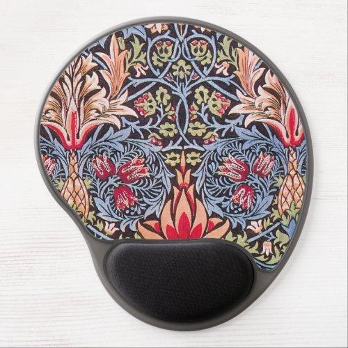 William Morris Snakeshead Floral Art Nouveau Gel Mouse Pad
