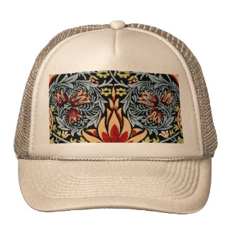 William Morris Snakeshead Floral Design Hat