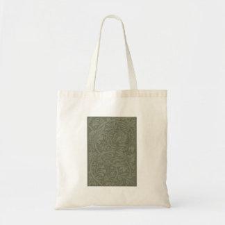 William Morris Soft Green Floral Vintage Pattern Tote Bag