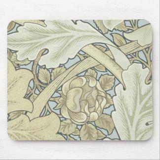 william morris st. james wallpaper artwork print mouse pad