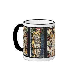 William Morris stained glass mug