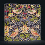 "William Morris Strawberry Thief Floral Art Nouveau 3 Ring Binder<br><div class=""desc"">William Morris Strawberry Thief Floral Art Nouveau Watercolor Painting Strawberry Thief is one of William Morris's most popular repeating designs for textiles. It takes as its subject the thrushes that Morris found stealing fruit in his kitchen garden of his countryside home, Kelmscott Manor, in Oxfordshire. William Morris was an English...</div>"