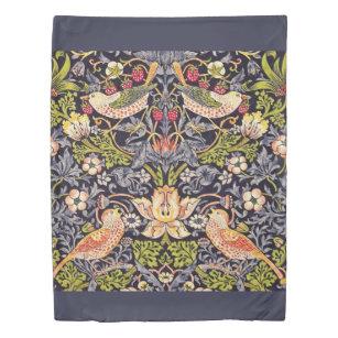 William Morris Strawberry Thief Floral Art Nouveau Duvet Cover