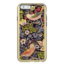 William Morris Strawberry Thief Floral Art Nouveau Incipio Feather Shine iPhone 6 Case