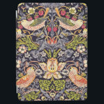 """William Morris Strawberry Thief Floral Art Nouveau iPad Air Cover<br><div class=""""desc"""">William Morris Strawberry Thief Floral Art Nouveau Watercolor Painting Strawberry Thief is one of William Morris's most popular repeating designs for textiles. It takes as its subject the thrushes that Morris found stealing fruit in his kitchen garden of his countryside home, Kelmscott Manor, in Oxfordshire. William Morris was an English...</div>"""