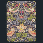"William Morris Strawberry Thief Floral Art Nouveau iPad Air Cover<br><div class=""desc"">William Morris Strawberry Thief Floral Art Nouveau Watercolor Painting Strawberry Thief is one of William Morris's most popular repeating designs for textiles. It takes as its subject the thrushes that Morris found stealing fruit in his kitchen garden of his countryside home, Kelmscott Manor, in Oxfordshire. William Morris was an English...</div>"