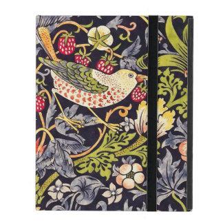William Morris Strawberry Thief Floral Art Nouveau iPad Folio Case