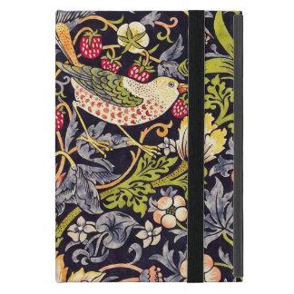 William Morris Strawberry Thief Floral Art Nouveau iPad Mini Cover