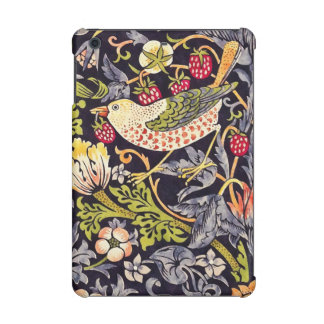 William Morris Strawberry Thief Floral Art Nouveau iPad Mini Retina Case