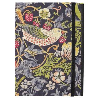 """William Morris Strawberry Thief Floral Art Nouveau iPad Pro 12.9"""" Case"""