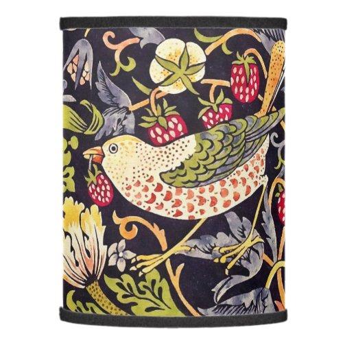 William Morris Strawberry Thief Floral Art Nouveau Lamp Shade