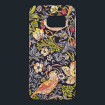 "William Morris Strawberry Thief Floral Art Nouveau Samsung Galaxy S7 Case<br><div class=""desc"">William Morris Strawberry Thief Floral Art Nouveau Watercolor Painting Strawberry Thief is one of William Morris"
