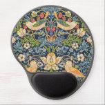 "William Morris Strawberry Thief Floral Pattern Gel Mouse Pad<br><div class=""desc"">William Morris Strawberry Thief Floral Pattern Mouse Pad</div>"