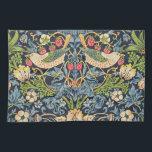 "William Morris Strawberry Thief Floral Pattern Kitchen Towel<br><div class=""desc"">William Morris Strawberry Thief Floral Pattern Kitchen Towel</div>"