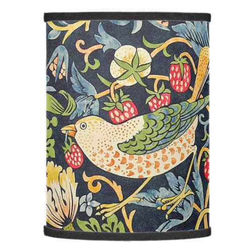 William Morris Strawberry Thief Floral Pattern Lamp Shade