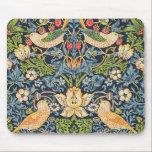 "William Morris Strawberry Thief Floral Pattern Mouse Pad<br><div class=""desc"">William Morris Strawberry Thief Floral Pattern Mouse Pad</div>"
