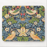 "William Morris Strawberry Thief Floral Pattern Mouse Pad<br><div class=""desc"">William Morris Strawberry Thief Floral Pattern Mouse Pad</div>"