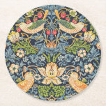"William Morris Strawberry Thief Floral Pattern Round Paper Coaster<br><div class=""desc"">William Morris Strawberry Thief Floral Pattern Paper Coaster</div>"