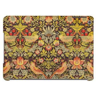 William Morris Strawberry Thief Pattern iPad Air Cover