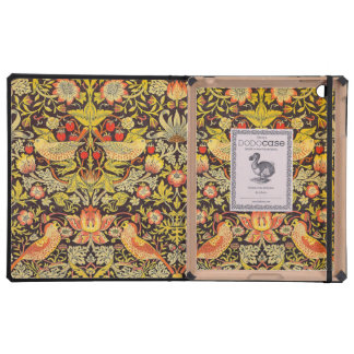 William Morris Strawberry Thief Pattern Cover For iPad
