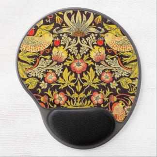 William Morris Strawberry Thief Pattern Gel Mouse Pad