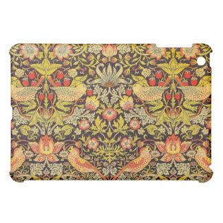 William Morris Strawberry Thief Pattern iPad Mini Case