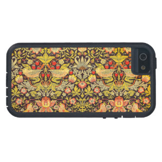 William Morris Strawberry Thief Pattern iPhone SE/5/5s Case