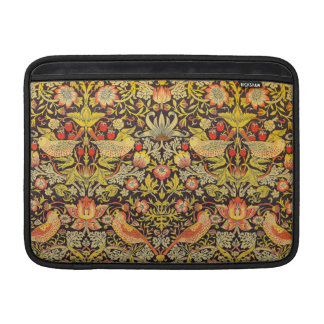 William Morris Strawberry Thief Pattern MacBook Air Sleeve