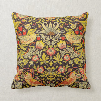 William Morris Strawberry Thief Pattern Pillows