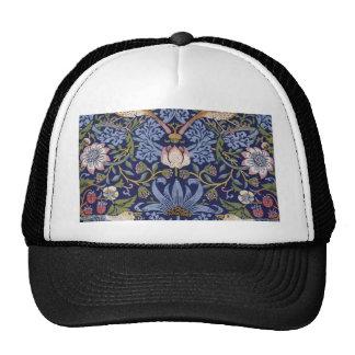 William Morris Strawberry Thief Trucker Hat