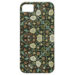 William Morris Style Wallpapered Forestry Pattern iPhone 5 Covers