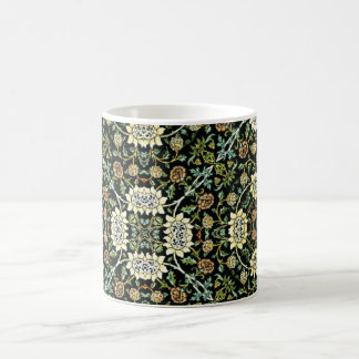 William Morris Style Wallpapered Forestry Pattern Coffee Mug