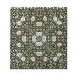 William Morris Style Wallpapered Forestry Pattern Memo Notepads