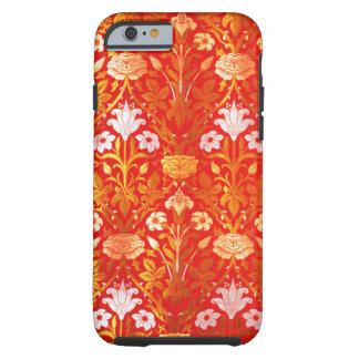 William Morris subió y lirio Funda De iPhone 6 Tough