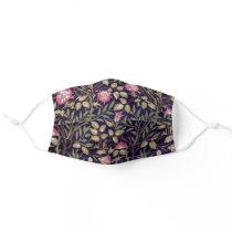 William Morris Sweet Briar Floral Art Nouveau Adult Cloth Face Mask