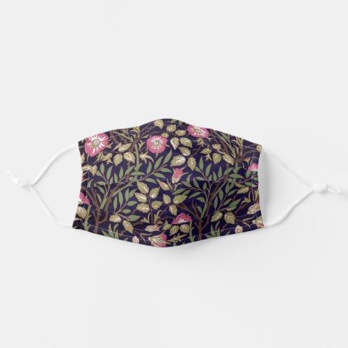 William Morris Sweet Briar Floral Art Nouveau Cloth Face Mask