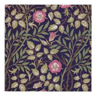 William Morris Sweet Briar Floral Art Nouveau Faux Canvas Print