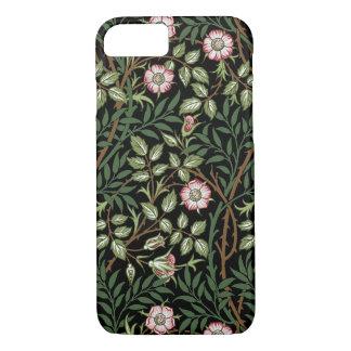 William Morris Sweet Briar Vintage Floral Pattern iPhone 7 Case