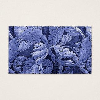 William Morris Textile Acanthus Leaves Business Card