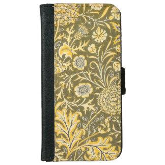 William Morris The Cherwell Design For Velveteen iPhone 6 Wallet Case
