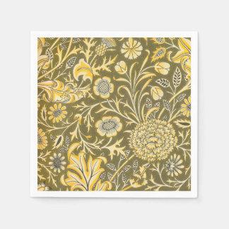 William Morris The Cherwell Design For Velveteen Paper Napkin
