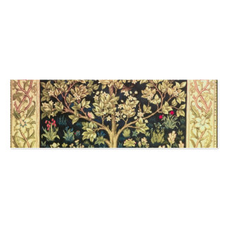 William Morris Tree Of Life Double-Sided Mini Business Cards (Pack Of 20)