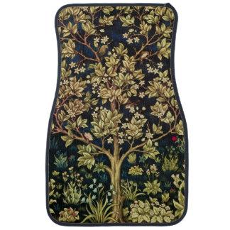 William Morris Tree Of Life Car Floor Mat