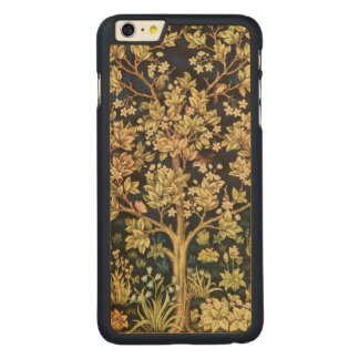 William Morris Tree Of Life Floral Vintage Art Carved Maple iPhone 6 Plus Slim Case