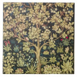"""William Morris Tree Of Life Floral Vintage Art Ceramic Tile<br><div class=""""desc"""">William Morris Tree Of Life Floral Vintage Art William Morris was an English textile designer, artist, writer, and socialist associated with the Pre-Raphaelite Brotherhood and British Arts and Crafts Movement. He founded a design firm in partnership with the artist Edward Burne-Jones, and the poet and artist Dante Gabriel Rossetti which...</div>"""