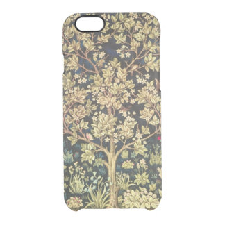 William Morris Tree Of Life Floral Vintage Art Clear iPhone 6/6S Case