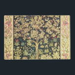 "William Morris Tree Of Life Floral Vintage Art Placemat<br><div class=""desc"">William Morris Tree Of Life Floral Vintage Art William Morris was an English textile designer, artist, writer, and socialist associated with the Pre-Raphaelite Brotherhood and British Arts and Crafts Movement. He founded a design firm in partnership with the artist Edward Burne-Jones, and the poet and artist Dante Gabriel Rossetti which...</div>"