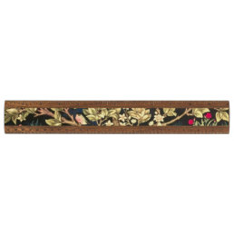William Morris Tree Of Life Floral Vintage Art Ruler